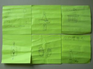 Alice 也匆匆趕製了 6 張尋寶提示(字跡真草~),讓我們找出 2A 的禮物。