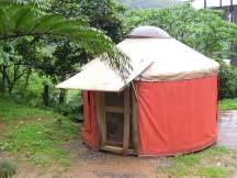 大坪國小一位外籍家長經營的 Taiwan Camp 場地一景。