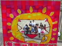學校的校友也結伴返校參加園遊會,我很喜歡這樣的校風~