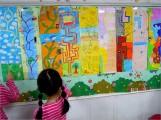 瑞柑國小學生們的「迷宮」作品,2A 很開心地玩了起來(改天我也帶她們來自創「迷宮」)~
