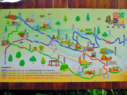 華山附近的風景地圖~