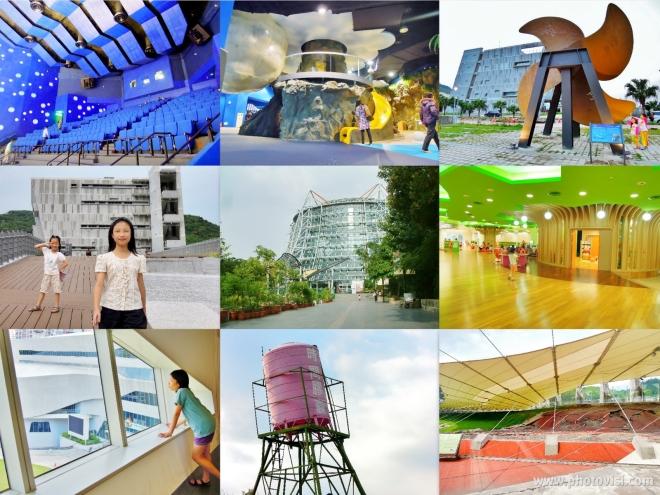 2A 曾經體驗過的教育場館,包括:鄰近她們學校的基隆海科館、台中溫室植物園、公共資訊圖書館、921 地震教育園區,都有很豐富、精彩的展覽內容~